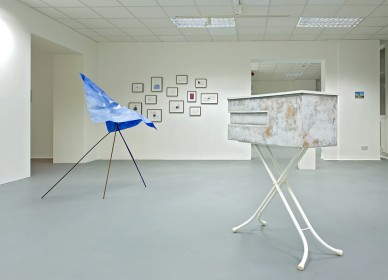 This Is Where We Meet (Installation View)